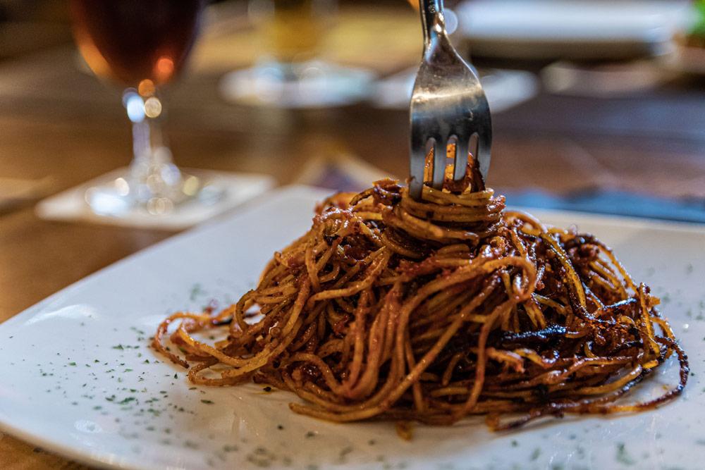 pasta in saloon ristorante con specialità western a Bari